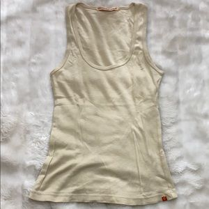 Adriano Goldschmied rant top tan - camel
